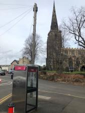 BT consultation to remove phone box on Market Place