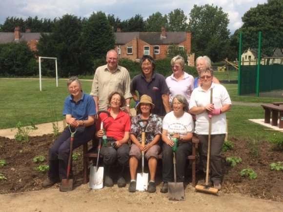 Sideley Planting Volunteers